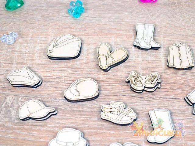 Набор фигурок гардероб фото 4