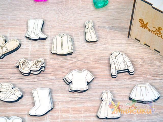Набор фигурок гардероб фото 5