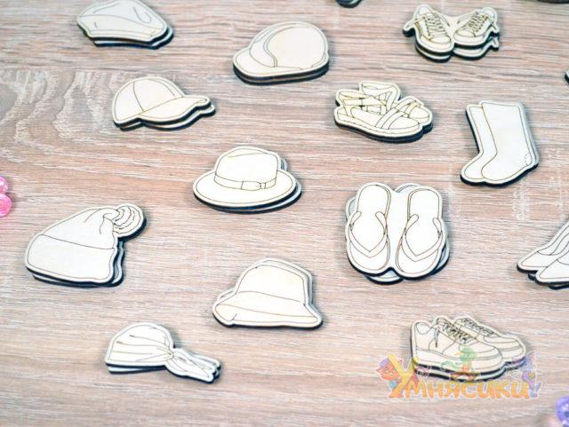 Набор фигурок гардероб фото 6