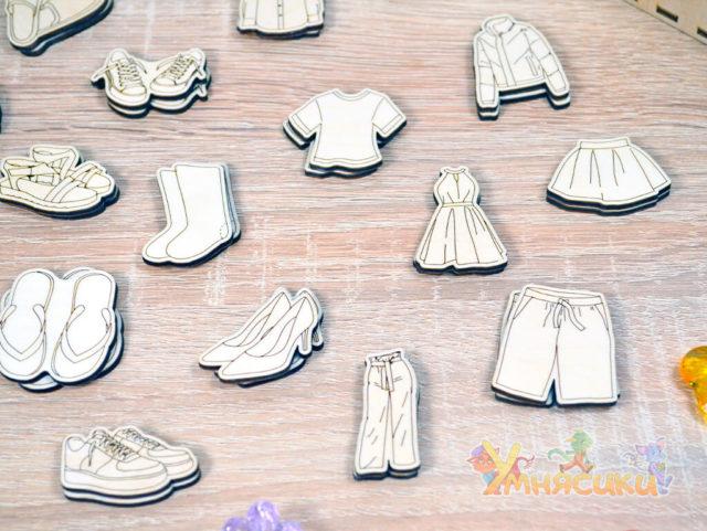 Набор фигурок гардероб фото 7